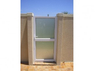 Aluminium Single Hinge Doors