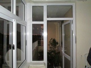 Sliding windows and single door