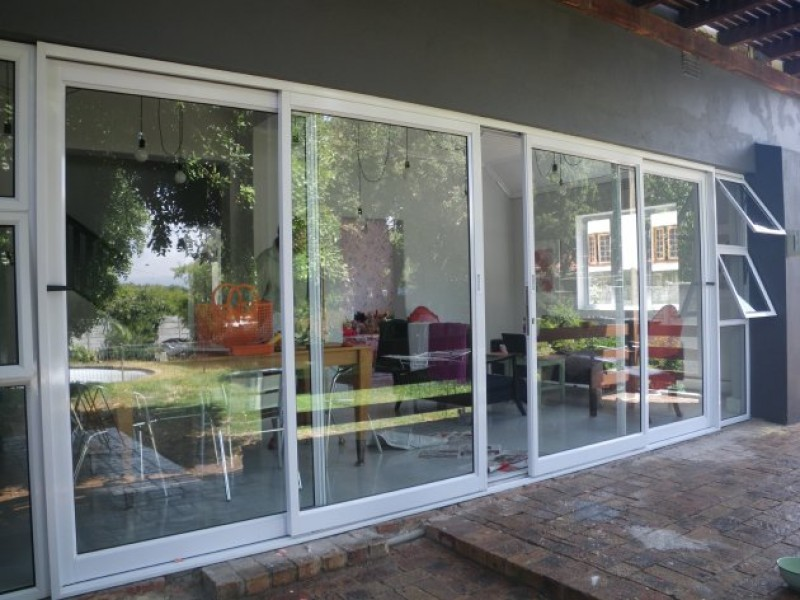 Anglo windows gallery for Multi track sliding doors